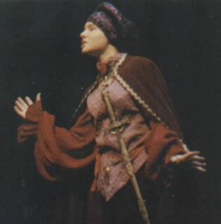 Amy as Prince Escalus in Romeo and Juliet